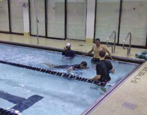 Excel Aquatics offers a range of adult swim lessons and classes for all skill levels.