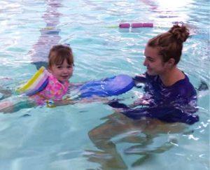 Kids swimming lessons at Excel Aquatics