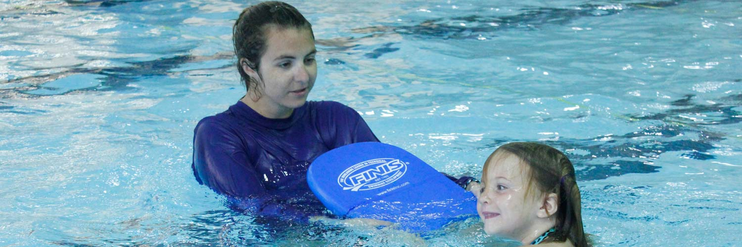 Kid swim lessons at Excel Aquatics