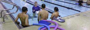Swimming lessons at Excel Aquatics