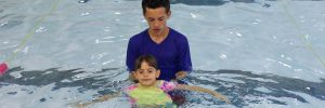 Summer swimming lessons on weekdays at Excel Aquatics.