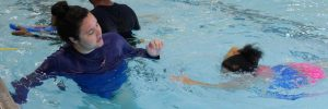 Swimming lessons at Excel Aquatics