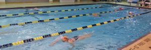 Teen swimming lessons at Excel Aquatics.
